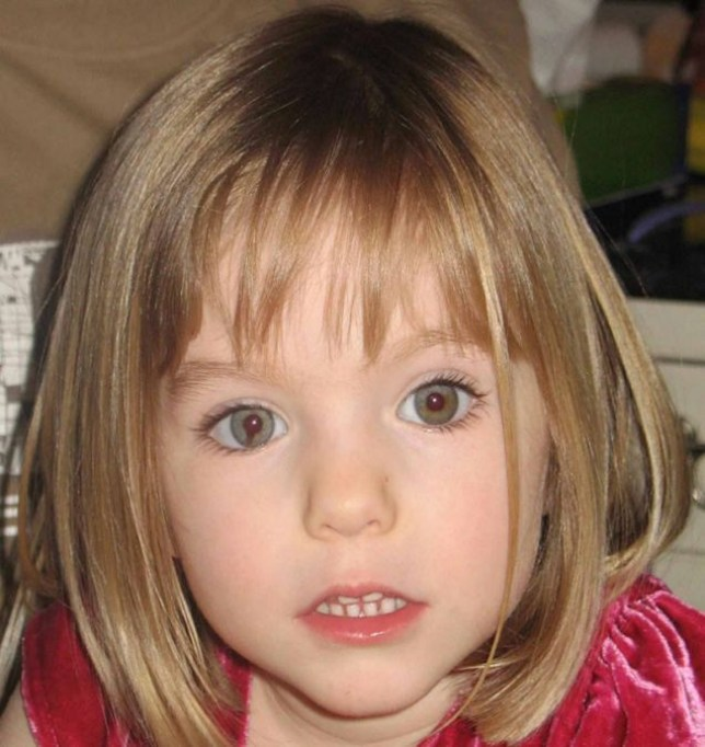 Missing: Maddie McCann disappeared in Praia da Luz (Picture: PA)