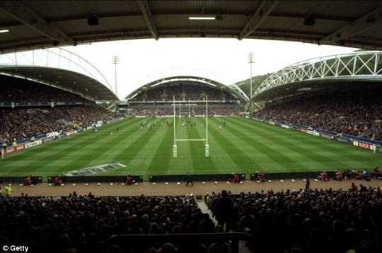 McAlpine Stadium: Home of Huddersfield Giants