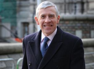 Against military action: Justice Secretary Jack Straw