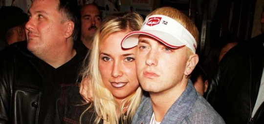 Shady with Kim in happier times