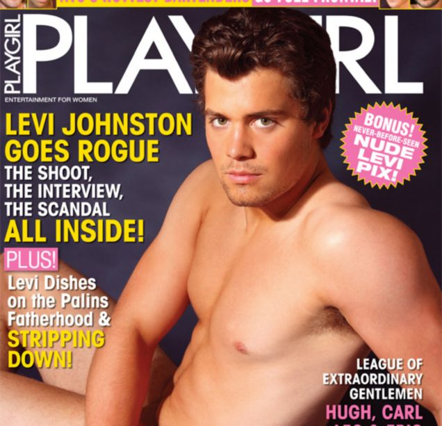 Levi Johnston gets his kit off for Playgirl