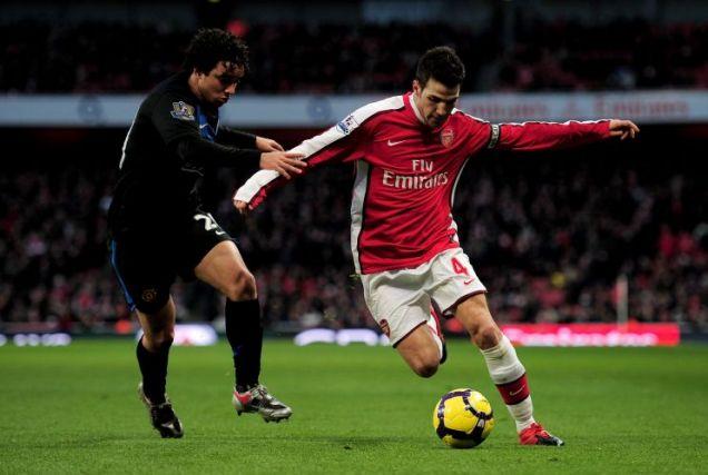 Staying put: Arsenal star Cesc Fabregas