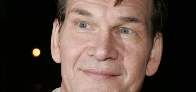 Patrick Swayze has been crowned king of the weepies