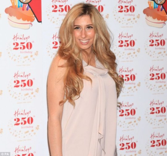X Factor's Stacey Solomon: Still looking for 'the one'