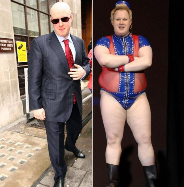 Little Britain star Matt Lucas is pictured leaving the studios of BBC Radio One following an interview.<P>Pictured: Matt Lucas<B>Ref: SPL160352  240210  </B><BR/>Picture by: Simon Earl / Splash News<BR/></P><P><B>Splash News and Pictures</B><BR/>Los Angeles: 310-821-2666<BR/>New York: 212-619-2666<BR/>London: 870-934-2666<BR/>photodesk@splashnews.com<BR/></P>
