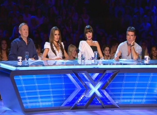 X Factor judges doing what they do best: could this be no longer?