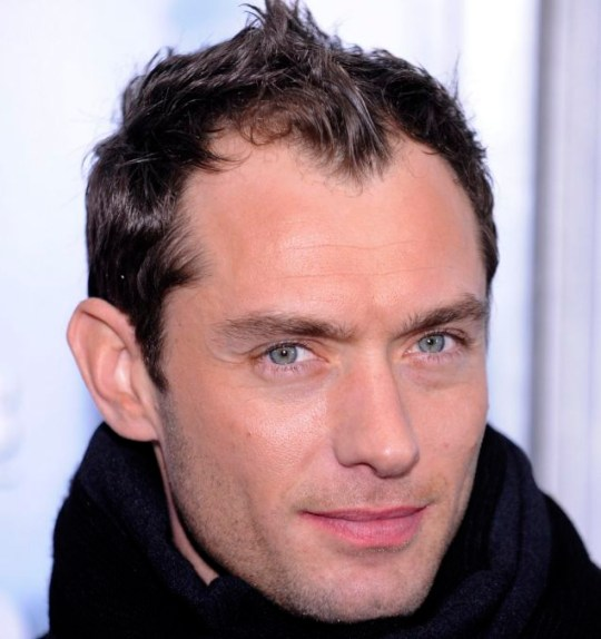 Jude Law flew to the US to meet his daughter for the first time