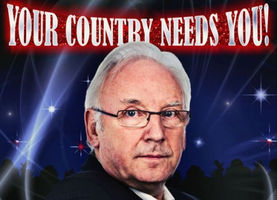 Pete Waterman in Eurovision: Your Country Needs You! BBC1 8.30pm