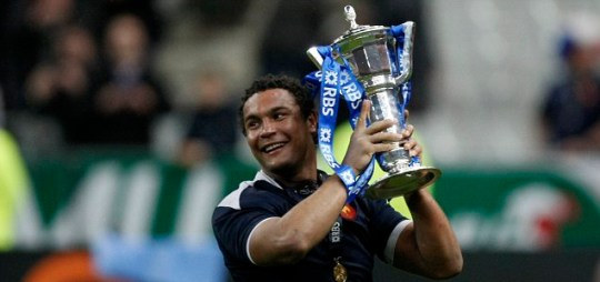 Star man: Thierry Dusautoir is Metro's Six Nations player of the tournament
