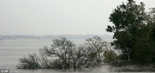 New Moore Island is all at sea