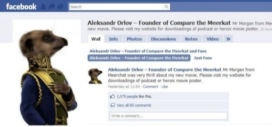 Aleksandr Orlov talks about Piers Morgan on his Facebook page