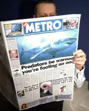 Metro April Fools