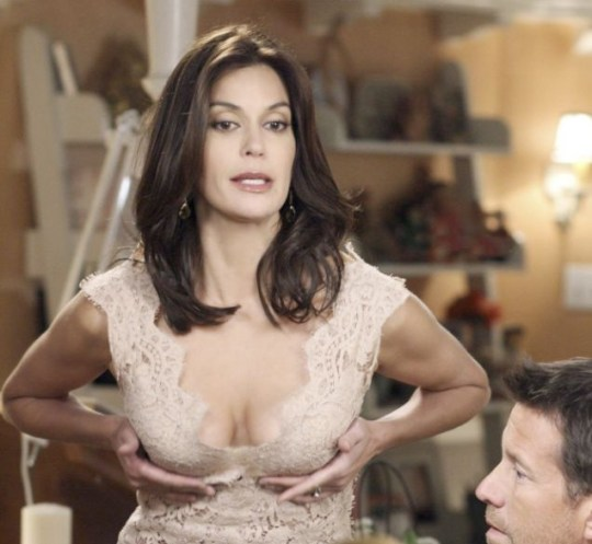 Do my boobs look big in this? Teri Hatcher in Desperate Housewives
