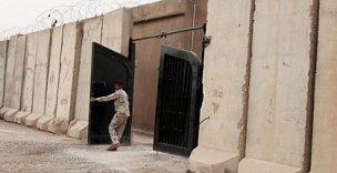 File photo of an Iraqi-run prison in Baghdad, Iraq.