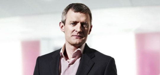 Jeremy Vine will be looking after the 'swingometer' during the 2010 general election results night
