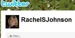 Rachel S Johnson Twitter page