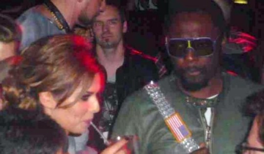 Cheryl Cole and will.i.am enjoying a night out