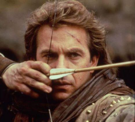 FILM : Robin Hood Prince Of Thieves (1991) Starring Kevin Costner as Robin Hood.