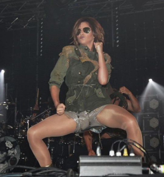 Cheryl Cole performed at Radio 1's Big Weekend (Photo: PA)