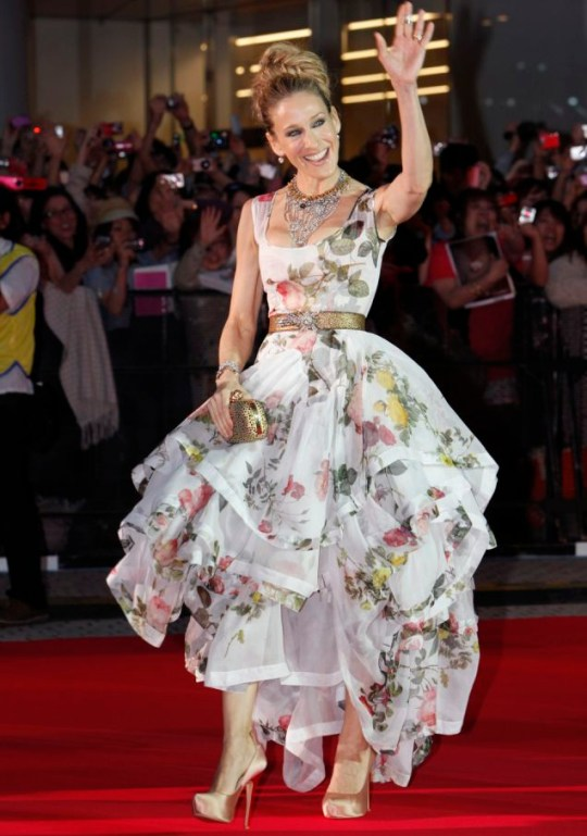 Sarah Jessica Parker attends the Japanese premiere of Sex and the City 2 (Photo: AP)