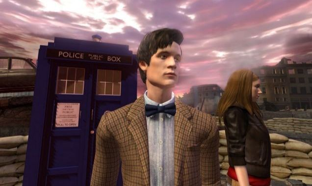 City Of The Daleks (PC): Amy and The Doctor do Invasion of the Body Snatchers
