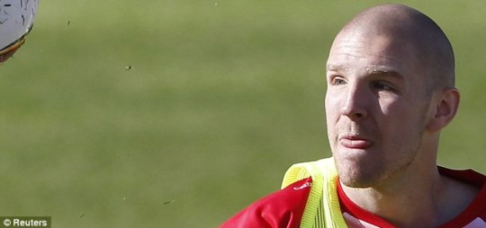 Philippe Senderos is currently in South Africa for the World Cup with Switzerland