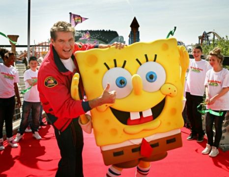 David Hasselhoff Spongebob Squarepants