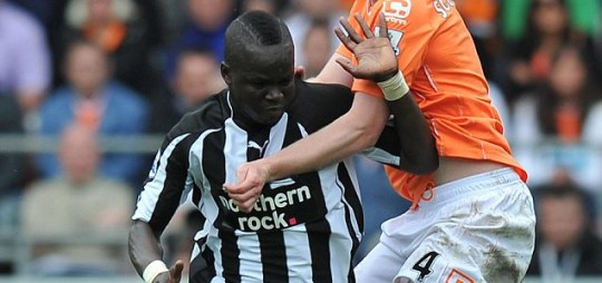 Cheik Tiote Newcastle United