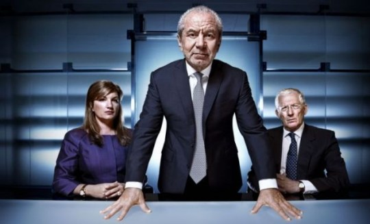 The Apprentice's Lord Sugar, Karen Brady and Nick Hewer