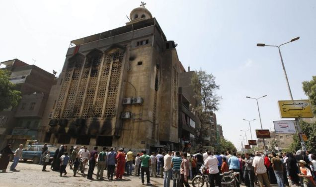 Nine killed in sectarian violence in Cairo