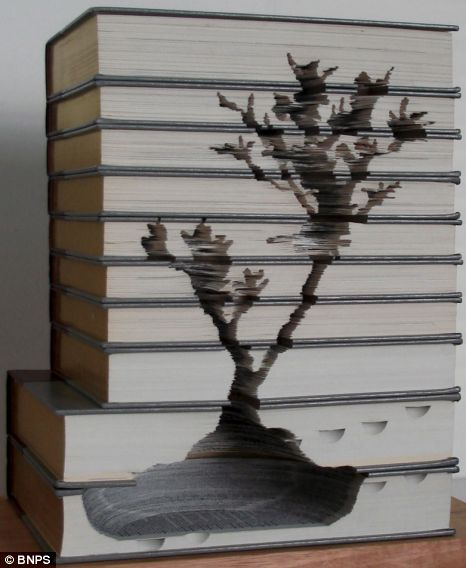Kylie Stillman book carvings