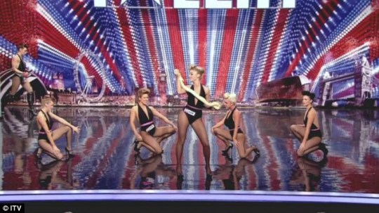 Girls Roc give a saucy audition on Britain's Got Talent