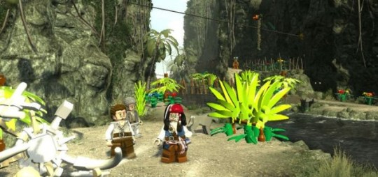 Lego Pirates Of The Caribbean: The Video Game (PS3) – pieces of 8x16