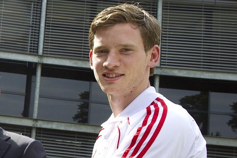 Ajax Jan Vertonghen Man City Arsenal transfer target