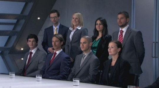The Apprentice contestants get given their first task by Lord Alan Sugar (PA)
