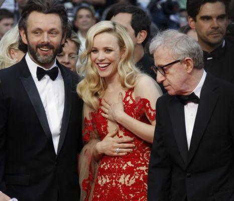 Michael Sheen, Rachel McAdams and Woody Allen, Midnight in Paris, Cannes Film Festival