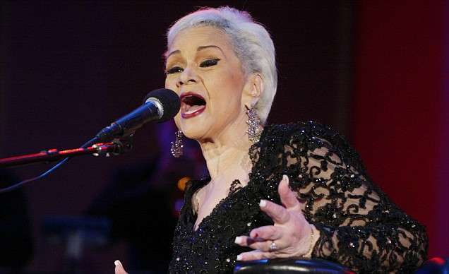 Etta James is in hospital with blood poisoning