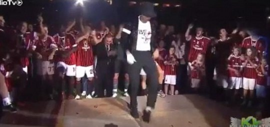 Kevin-Prince Boateng celebrates AC Milan's Serie A title by dancing like Michael Jackson