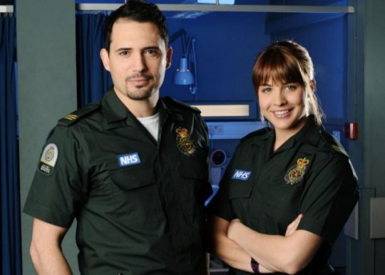Gemma Atkinson and Dhafer L'Abidine, Casualty