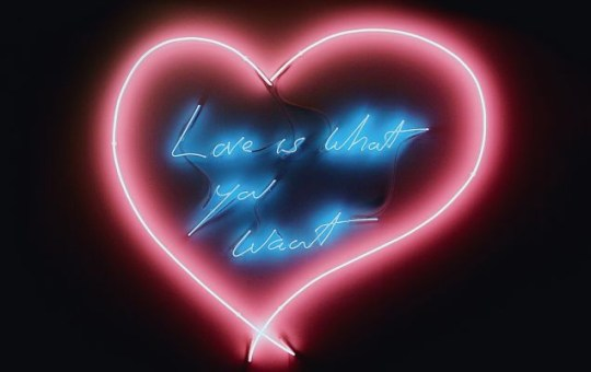 Tracey Emin's Love Is What You Want