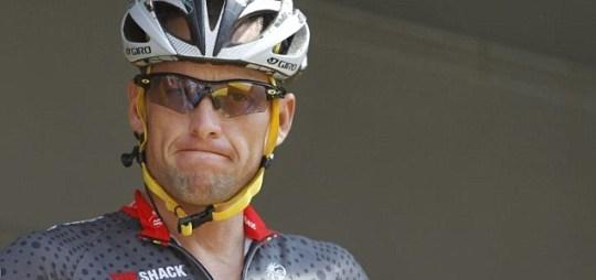 Lance Armstrong - seven-time Tour de France winner
