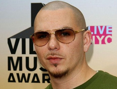 Pitbull has claimed his first number one single  with Give Me Everything