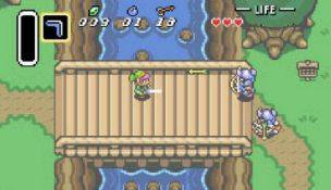 Zelda: A Link To The Past – classic combat?