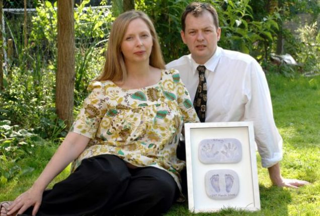 Iain Croft and Heather Paterson
