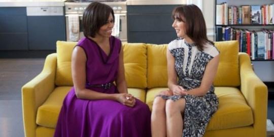 Michelle Obama, Samantha Cameron