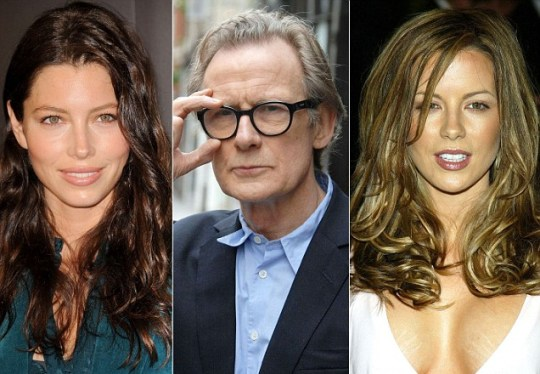 Kate Beckinsale, Bill Nighy and Jessica Biel will all star in the remake of 90s sci-fi blockbuster Total Recall