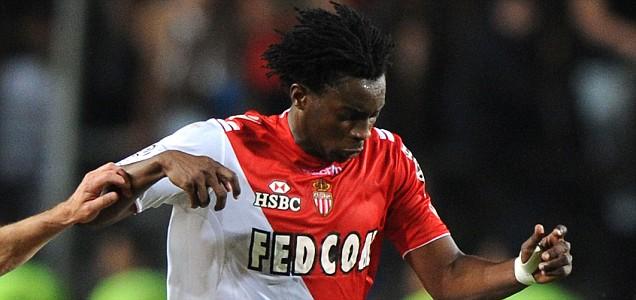 Monaco's forward Benjamin Moukandjo