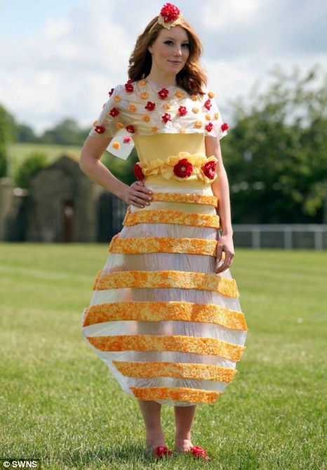 April Sharman Cheese dress