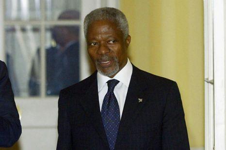 war on drugs, Kofi Annan