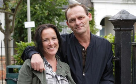 Julie Perkins and Billy Mitchell, EastEnders